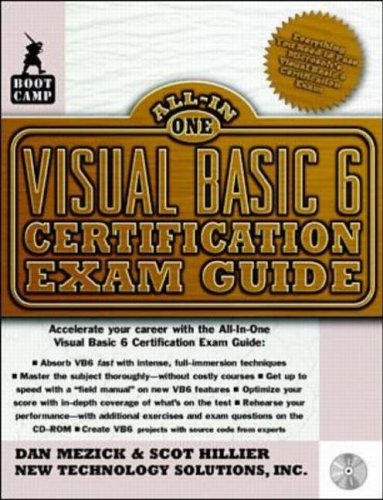 Visual Basic 6 Certification Exam Guide By New Technology Solutions