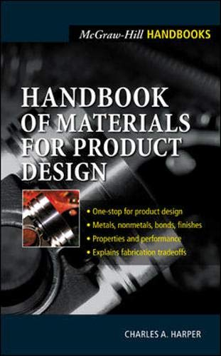 Handbook of Materials for Product Design By Charles A. Harper