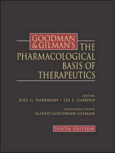 Goodman and Gilman's the Pharmacological Basis of Therapeutics By Louis S. Goodman