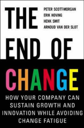 The End of Change By Peter Scott-Morgan