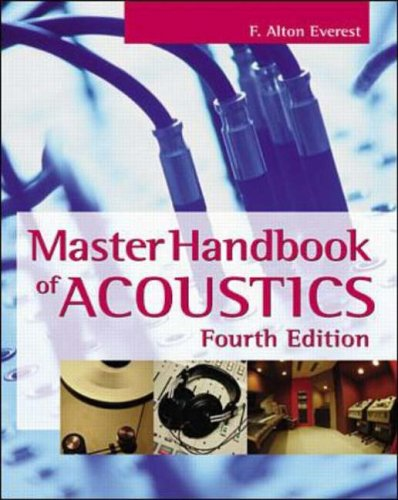 Master Handbook of Acoustics By F. Alton Everest