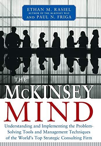 McKinsey Mind By Ethan Rasiel