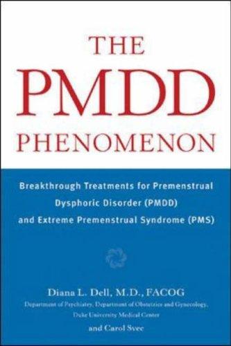 The PMDD Phenomenon By Diana Dell
