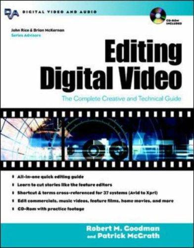 Editing Digital Video By Robert M. Goodman