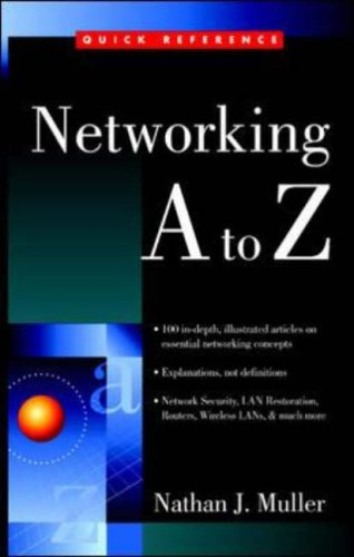 Networking A to Z By Nathan J. Muller