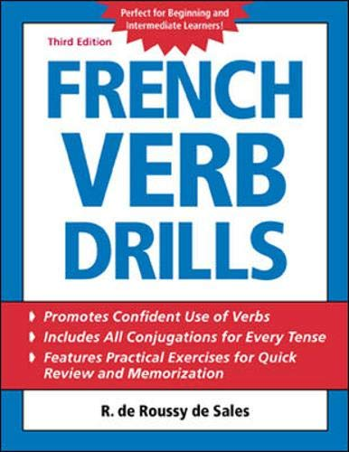 French Verb Drills By R. De Roussy De Sales