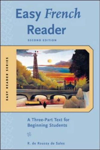 Easy French Reader w/CD-ROM By R. De Roussy de Sales