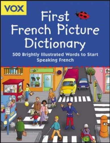 Vox First French Picture Dictionary By Vox