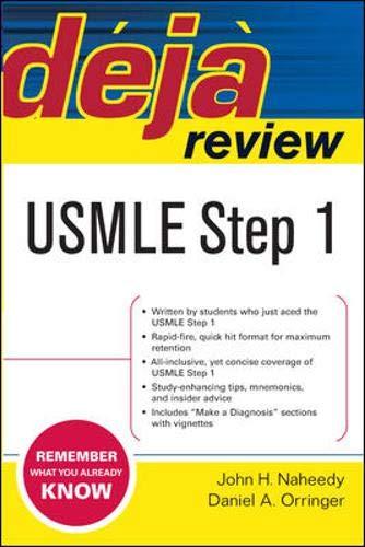 Deja Review USMLE Step 1 By John H. Naheedy