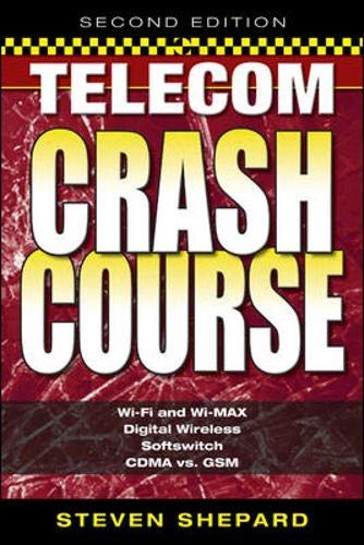 Telecom Crash Course By Steven Shepard