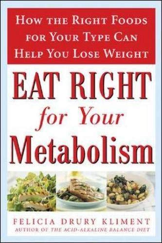 Eat Right for Your Metabolism By Felicia Drury Kliment