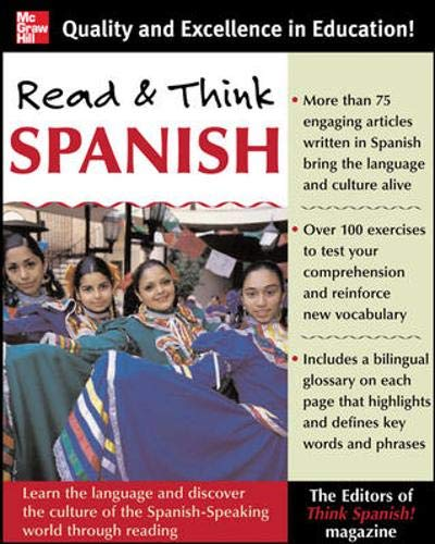 Read And Think Spanish (Book) By The Editors of Think Spanish Magazine