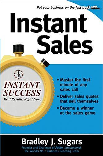 Instant Sales By Bradley Sugars