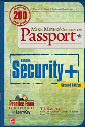 Mike Meyers' CompTIA Security+ Certification Passport, Second Edition By T. J. Samuelle