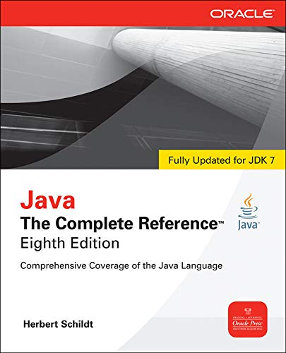 Java The Complete Reference, 8th Edition By Herbert Schildt