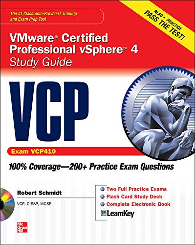 VCP VMware Certified Professional vSphere 4 Study Guide (Exam VCP410) with CD-ROM By Robert Schmidt, III
