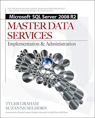 Microsoft SQL Server 2008 R2 Master Data Services by Tyler Graham