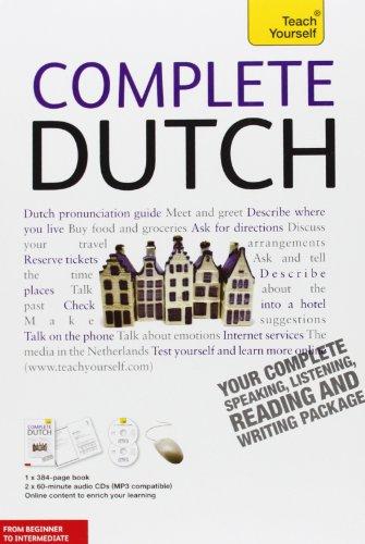 Teach Yourself Complete Dutch By Gerdi Quist (University College London UK)