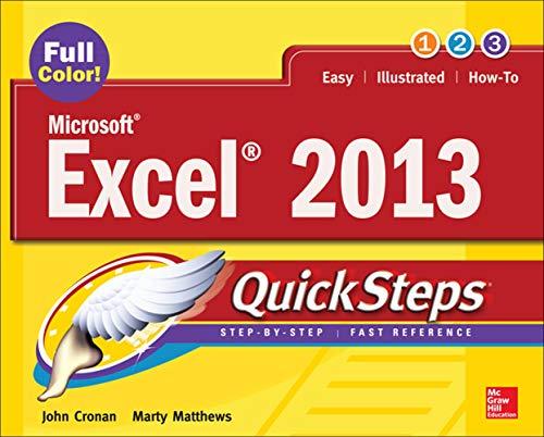 Microsoft® Excel® 2013 QuickSteps By John Cronan