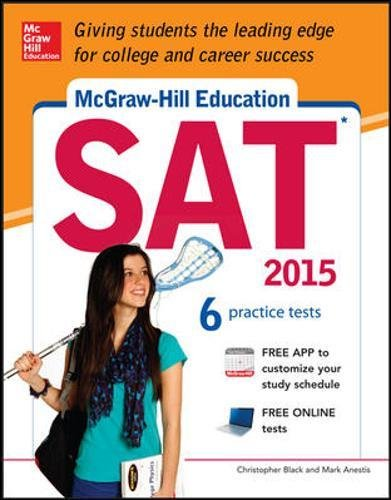 McGraw-Hill Education SAT with DVD-ROM, 2015 Edition By Christopher Black
