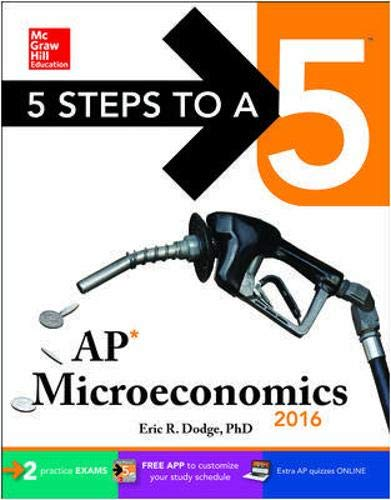 5 Steps to a 5 AP Microeconomics 2016 By Eric R. Dodge