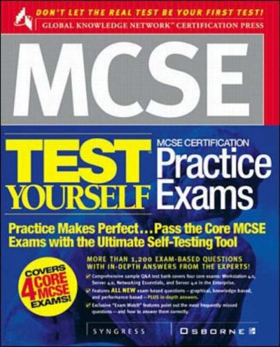 MCSE Test Yourself Practice Exams By Syngress Media, Inc.