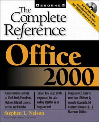 Office 2000: The Complete Reference By Stephen Nelson