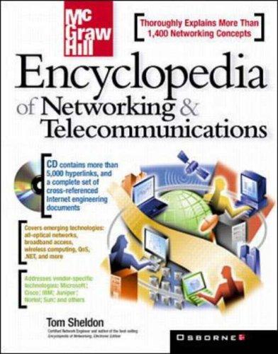 McGraw-Hill's Encyclopedia of Networking & Telecommunications By Thomas Sheldon
