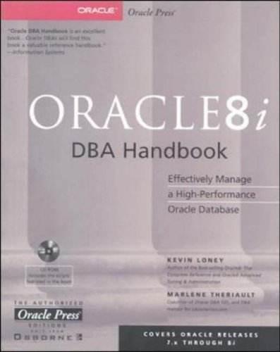 Oracle8i DBA Handbook By Kevin Loney