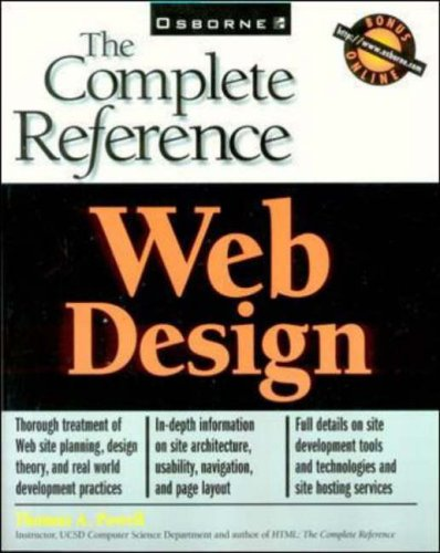 Web Design: The Complete Reference By Thomas Powell