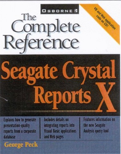 Seagate Crystal Reports X By George Peck