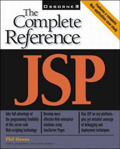 JSP: The Complete Reference By Phillip Hanna