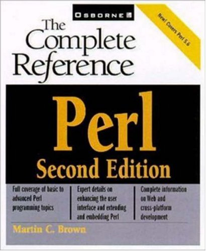 Perl By Martin C Brown