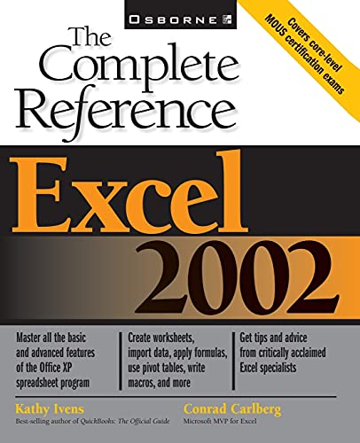 Excel 2002 By Kathy Ivens