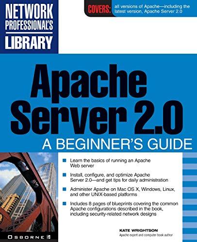 Apache Server 2.0 By Kate Wrightson