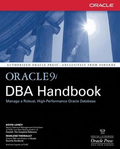 Oracle9i DBA Handbook By Kevin Loney