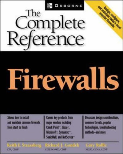 Firewalls: The Complete Reference By Keith Strassberg