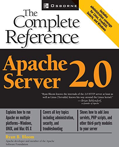 Apache Server 2.0: The Complete Reference By Ryan Bloom