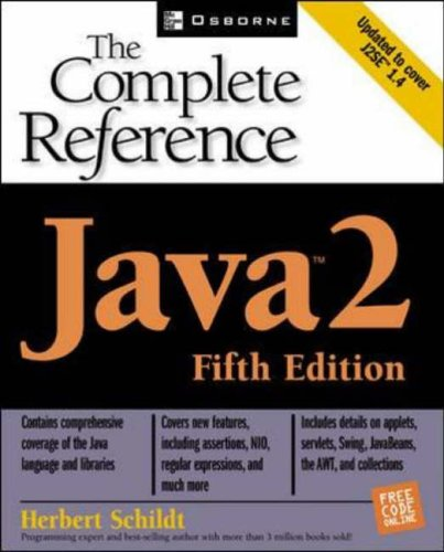 Java 2: The Complete Reference, Fifth Edition By Herbert Schildt