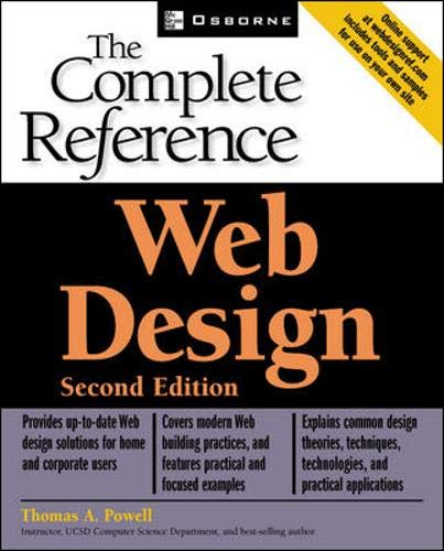 Web Design Complete Reference By Thomas Powell