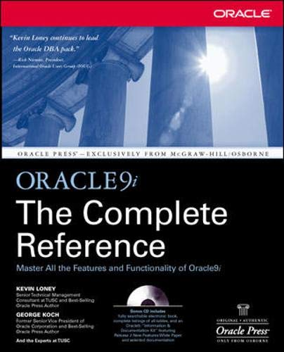 Oracle9i The Complete Reference By Kevin Loney