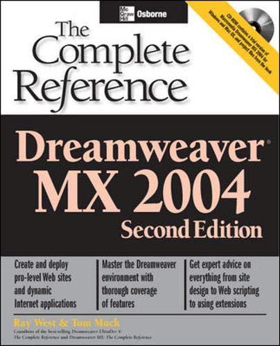 Dreamweaver MX 2004 By Ray West