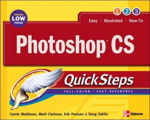 Photoshop X QuickSteps By Martin S. Matthews