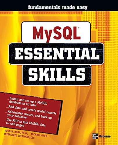 MySQL By John Horn