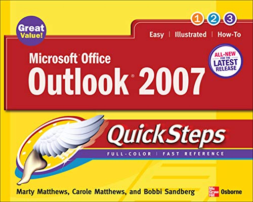 Microsoft Office Outlook 2007 QuickSteps By Marty Matthews