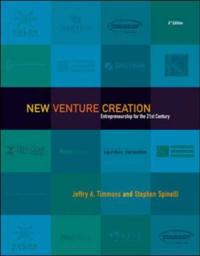 New Venture Creation: Entrepreneurship for the 21st Century with PowerWeb and New Business Mentor CD By Jeffry A. Timmons