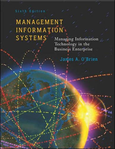 Management Information Systems w/ Powerweb: With PowerWeb By James A. O'Brien