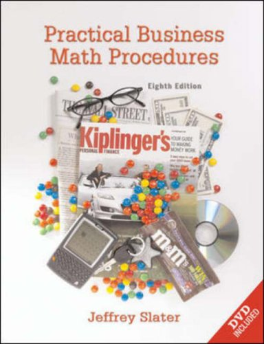 Practical Business Math Procedures By Slater