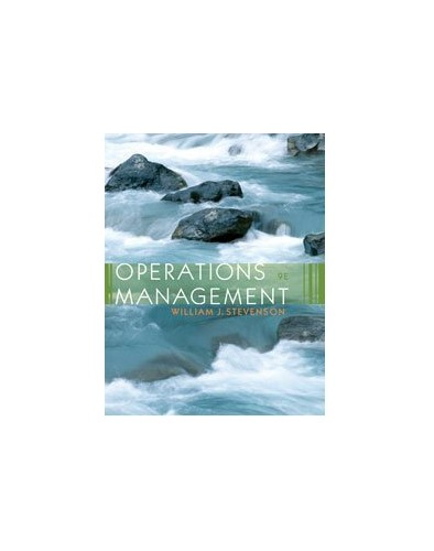 Operations Management By Stevenson
