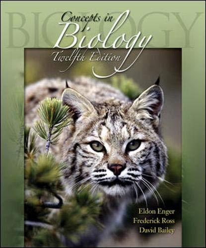 Concepts in Biology w/ARIS bind in card By Eldon D. Enger